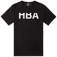 Hood By Air Rehab Logo Tee Black And White