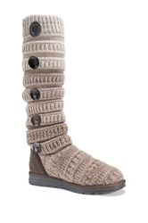 Muk Luks Kalie Sweater Boot Brown