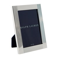 Ralph Lauren Home Luke Photo Frame 4X6 Silver