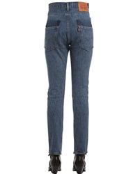 Vetements Levi's High Waist Reworked Denim Jeans