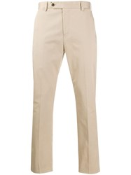 Pt01 Cropped Slim Fit Trousers 60