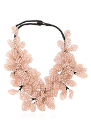 Nightmarket Flower Necklace Pink