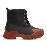 Black Mountain Lace Up Boots