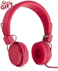 Polaroid Foldable Headphones Red