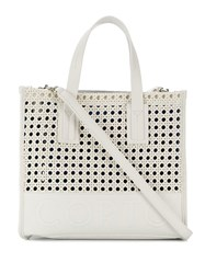 Corto Moltedo Small Shopper Tote White