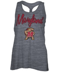 Royce Apparel Inc Women's Maryland Terrapins Nora Tank Top Charcoal
