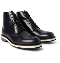 Want Les Essentiels Montoro High Matte Leather Derby Boots