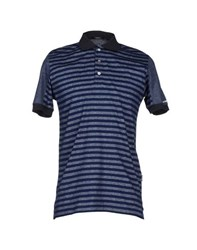 Baldinini Topwear Polo Shirts Men Dark Blue