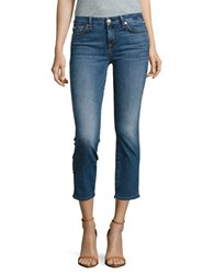7 For All Mankind Straight Leg Ankle Jeans Hydepark
