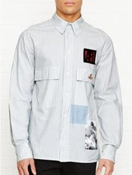 Vivienne Westwood Anglomania Berry Striped Shirt Grey