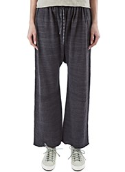 Lauren Manoogian Linen Sack Pants Black