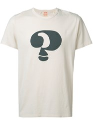 Levi's Vintage Clothing Question Mark Print T Shirt White