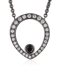 Theo Fennell Black Diamond Skull Necklace Female