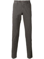 Eleventy Chino Trousers Brown
