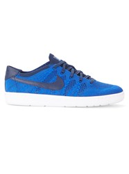 Nike Black And Royal Blue Tennis Classic Ultra Flyknit Sneakers