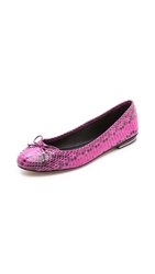 Michael Kors Collection Odette Ballet Flats Fuschia