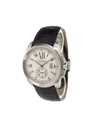Cartier 'Calibre' Analog Watch Stainless Steel