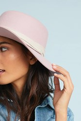 Anthropologie Stefani Boater Hat Pink