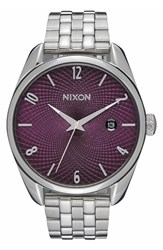 Women's Nixon 'Bullet' Guilloche Dial Bracelet Watch 38Mm