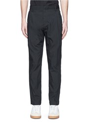 Alexander Wang Double Pleated Front Pants Black