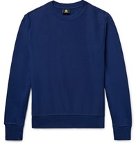 Paul Smith Ps By Loopback Cotton Jersey Sweatshirt Royal Blue