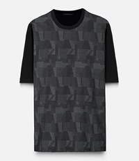 Christopher Kane Oversized Top With Contrast Grey