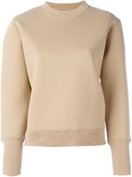 Wood Wood 'Willow' Sweatshirt Nude And Neutrals