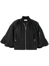 Red Valentino Wide Sleeves Bomber Jacket 60