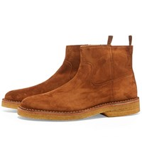 A.P.C. Timothy Suede Chelsea Boot Brown