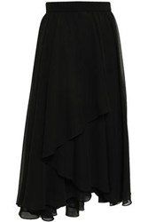 Mikael Aghal Woman Knee Length Skirt Black