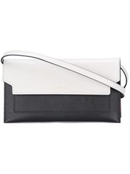 Marni Colour Block Crossbody Bag Grey