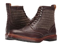 Stacy Adams Madison Ii Wingtip Lace Boot Brown Multi Men's Lace Up Boots