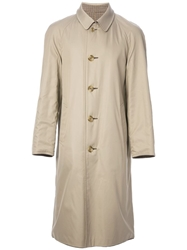 Aquascutum Vintage Reversible Raincoat Nude And Neutrals