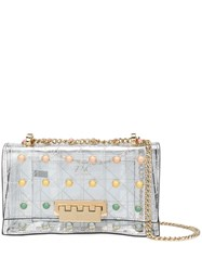 Zac Posen Earthette Shoulder Bag White