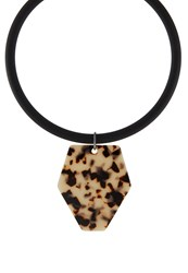 Sweet Deluxe Chilia Necklace Gunmetal Schwarz