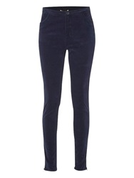 White Stuff Bug Skinny Cord Trousers Navy
