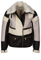 Supertrash Oconnor Light Jacket Vanille And Black