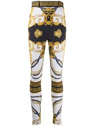 Versace Barocco Rodeo Print Skinny Trousers 60