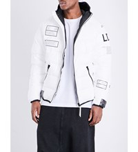Ueg Down Filled Quilted Jacket White