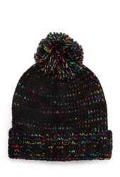 Forever 21 Marled Knit Neon Beanie