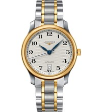 Longines L2.628.5.78.7 Master Collection Stainless Steel And 18Ct Gold Watch
