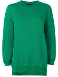 Dsquared2 Fine Knit Sweater Green