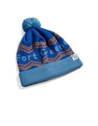 Tuck Shop Co. Fort Greene Knit Beanie Blue