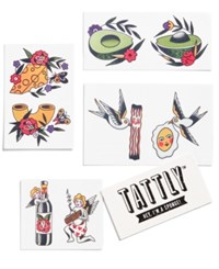 Tattly Things That Go Together Temporary Tattoo Set Only At Macy's Multi