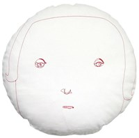 K Studio Female Round Face Pillow Multicolor