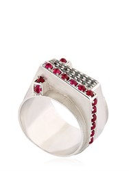 Federico Primiceri Chaos Sterling Silver Ring