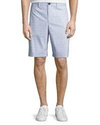 Original Penguin Micro Horizontal Cotton Blend Shorts Crystal Blue
