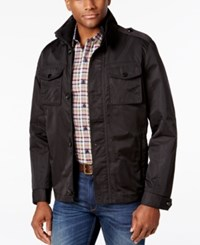 Tasso Elba Men's Four Pocket Jacket Only At Macy's Black