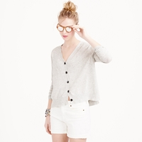 J.Crew Summerweight Cotton V Neck Cardigan