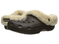 Crocs Classic Mammoth Luxe Espresso Clog Shoes Brown